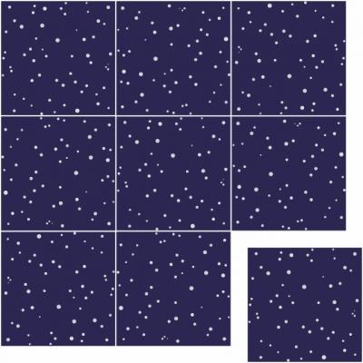 Цементная плитка Luxemix. Коллекция Сhips Dots (Точки)