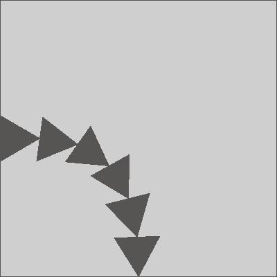 Цементная плитка Luxemix ручной работы. Коллекция Сhips triangle (треугольники)