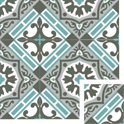 Цементная плитка ручной работы Luxemix. Коллекция Elegance. Арт.: ele_01