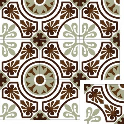 Элегантная цементная плитка ручной работы Luxemix. Арт.: ele_05
