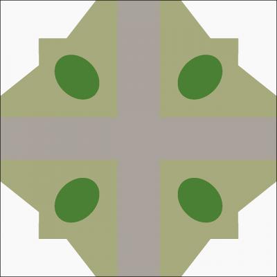 Цементная плитка Luxemix. Коллекция Etnico. Арт.: etn_03