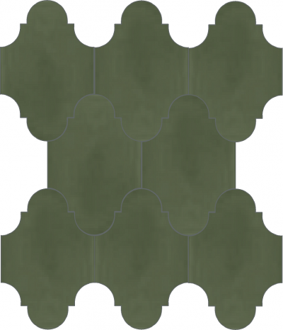 """Плитка Luxemix ручной работы в форме """"Фонарик"""". Цвет серый, темно-серый, серый мох ral  7003."""