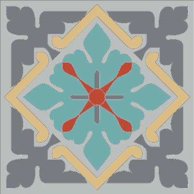 Цементная плитка ручной работы Luxemix. Коллекция Elegance. Арт.: ele_03