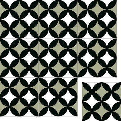 Цементная плитка Luxemix. Коллекция Vintage. Арт.: vin_10
