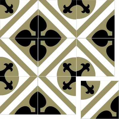 Цементная плитка Luxemix. Коллекция Vintage. Арт.: vin_15