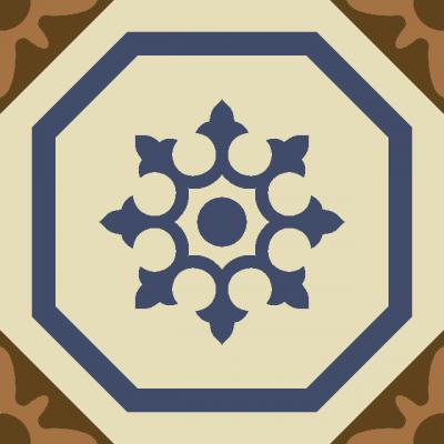 Цементная плитка ручной работы Luxemix. Коллекция Vintage. Арт.: vin_21
