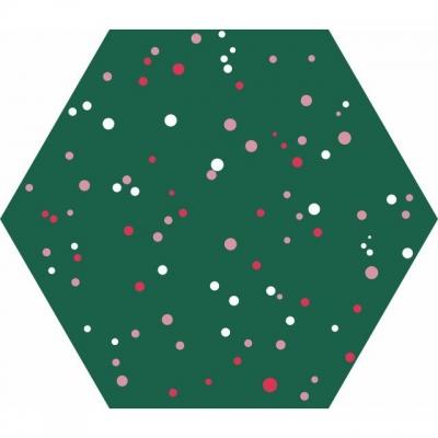 Цементная плитка Luxemix ручной работы. Коллекция Сhips Dots (Точки)