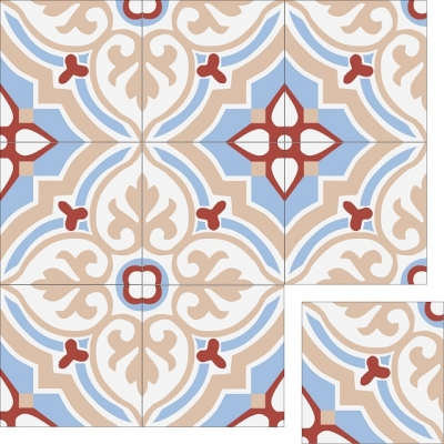 Цементная плитка Luxemix. Коллекция Elegance. Арт.: ele_13c3