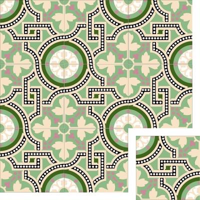 Цементная плитка Luxemix. Коллекция Elegance. Арт.: ele_14c3
