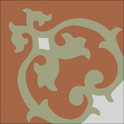 Цементная плитка Luxemix. Коллекция Etnico. Арт.: etn_14c1