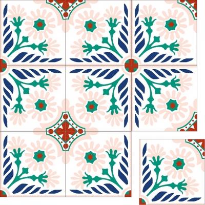 Цементная плитка Luxemix. Коллекция Etnico. Арт.: etn_15c1
