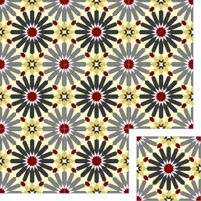 Цементная плитка Luxemix. Арт.: etn_21