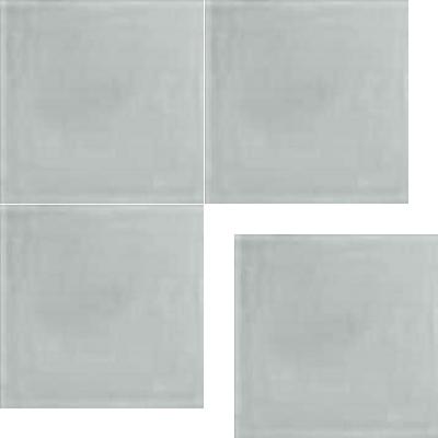Моноцветная цементная плитка Luxemix формата 25x25см. Цвет 7035 (серый).