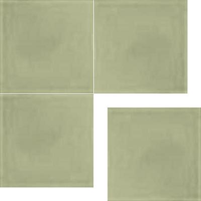 Моноцветная цементная плитка Luxemix формата 25x25см. Цвет 7044 (серый).