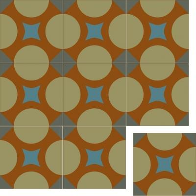 Цементная плитка Luxemix коллекции Modern. Арт.: Mod_23