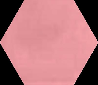 Однотонная шестиугольная плитка Luxemix ручной работы. Цвет 0207030