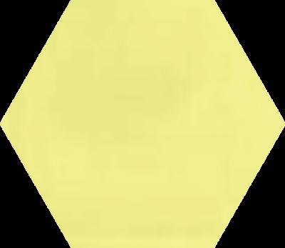 Однотонная шестиугольная плитка Luxemix ручной работы. Цвет 0959050