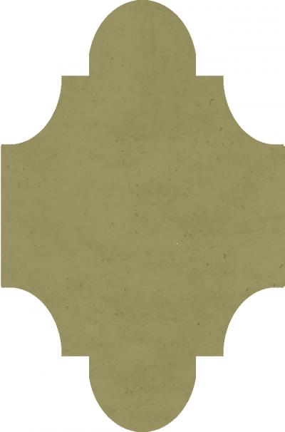 """Плитка Luxemix ручной работы в форме """"Фонарик"""". Цвет 1020"""