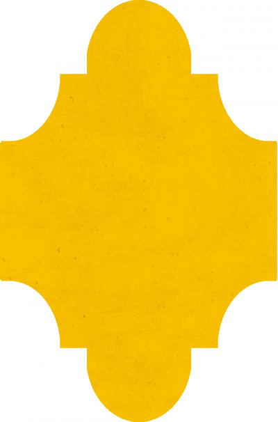 """Плитка Luxemix ручной работы в форме """"Фонарик"""". Цвет 1023"""