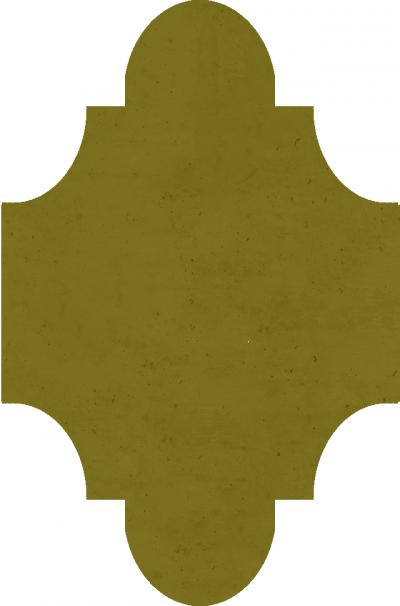 """Плитка Luxemix ручной работы в форме """"Фонарик"""". Цвет 1027"""
