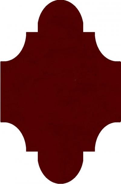 """Плитка Luxemix ручной работы в форме """"Фонарик"""". Цвет 3011"""
