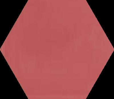 Однотонная шестиугольная плитка Luxemix ручной работы. Цвет 3014