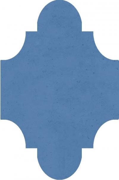 """Плитка Luxemix ручной работы в форме """"Фонарик"""". Цвет 5024"""