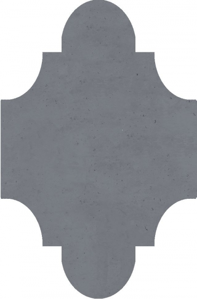 """Плитка Luxemix ручной работы в форме """"Фонарик"""". Цвет 7042"""