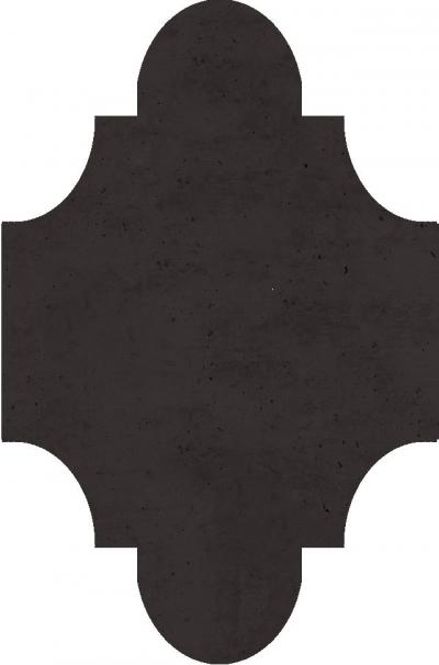 """Плитка Luxemix ручной работы в форме """"Фонарик"""". Цвет 8019"""
