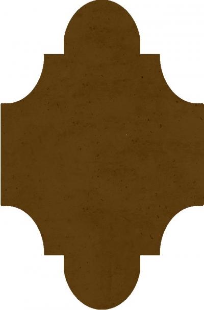 """Плитка Luxemix ручной работы в форме """"Фонарик"""". Цвет 8024"""