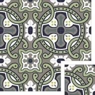 Цементная плитка ручной работы Luxemix. Коллекция Elegance. Арт.: ele_04