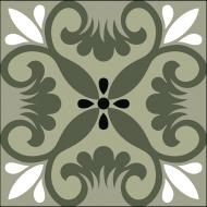 Элегантная цементная плитка ручной работы Luxemix. Арт.: ele_07