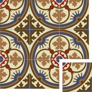 Элегантная цементная плитка ручной работы Luxemix. Арт.: ele_12