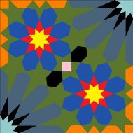 Цементная плитка Luxemix. Арт.: est_11c2