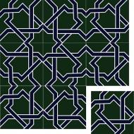 Цементная плитка Luxemix. Коллекция Etnico. Арт.: etn_02