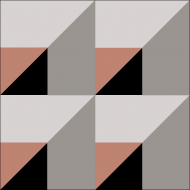 Цементная плитка Luxemix коллекции Geometry. Арт.: Geo_23