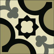 Цементная плитка Luxemix. Коллекция Vintage. Арт.: vin_13