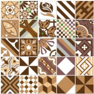 Patchwork. Арт.: brown