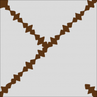 Цементная плитка Luxemix. Коллекция Etnico. Арт.: etn_16c1