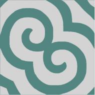 Цементная плитка Luxemix. Коллекция Etnico. Арт.: etn_19c1