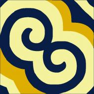 Цементная плитка Luxemix. Коллекция Etnico. Арт.: etn_19c2
