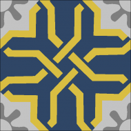 Цементная плитка Luxemix. Арт.: etn_22