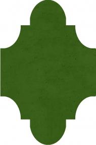 """Плитка Luxemix ручной работы в форме """"Фонарик"""". Цвет 6010"""
