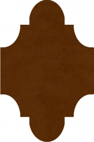 """Плитка Luxemix ручной работы в форме """"Фонарик"""". Цвет 8002"""