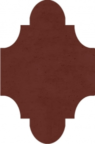 """Плитка Luxemix ручной работы в форме """"Фонарик"""". Цвет 8012"""