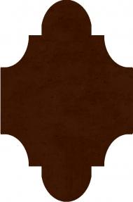 """Плитка Luxemix ручной работы в форме """"Фонарик"""". Цвет 8015"""
