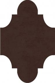 """Плитка Luxemix ручной работы в форме """"Фонарик"""". Цвет 8017"""