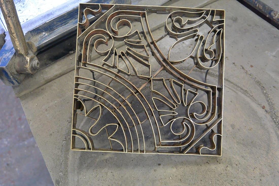 Клише для изготовления цементной плитки