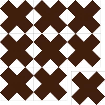 Цементная плитка ручной работы Luxemix. Коллекция Geometry. Арт.: geo_03c3