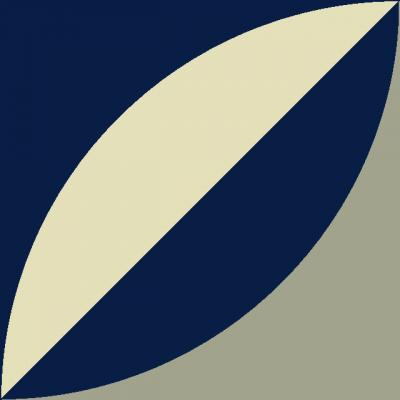 Квадратная цементная плитка ручной работы от Luxemix. Коллекция Simple. Арт.: sim_12